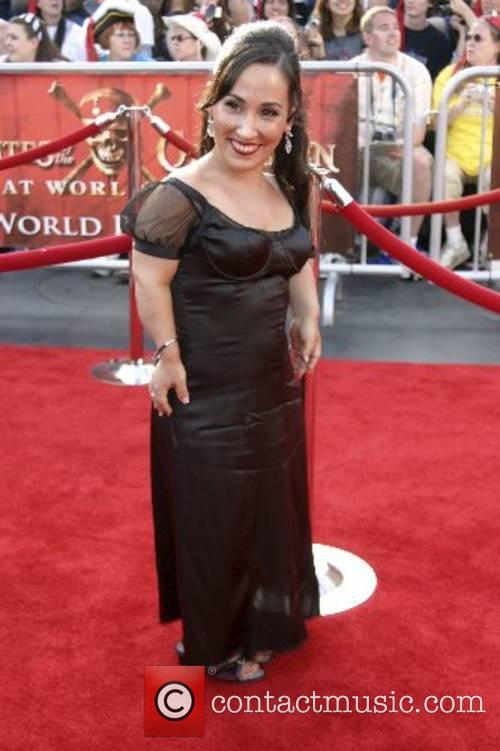 Meredith Eaton World Premiere of Walt Disney Pictures...