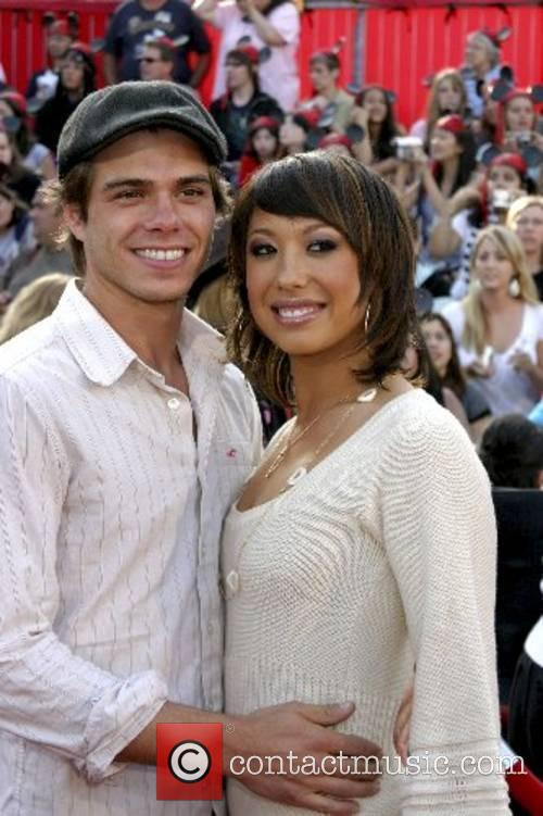 Matthw Lawrence and Cheryl Burke World Premiere of...