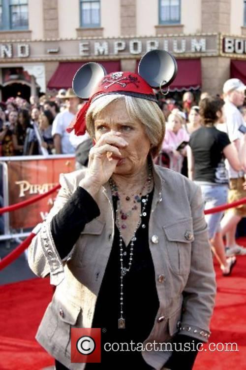 Cloris Leachman World Premiere of Walt Disney Pictures...