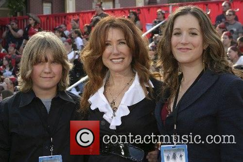Mary McDonnell and her children World Premiere of...