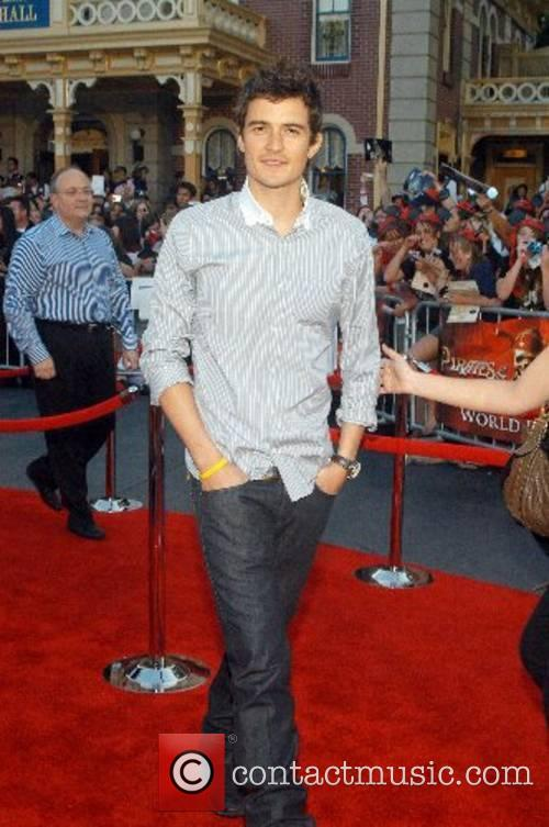 Orlando Bloom, Disneyland