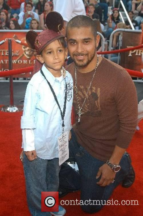 Wilmar Valderrama and brother Christian World Premiere of...