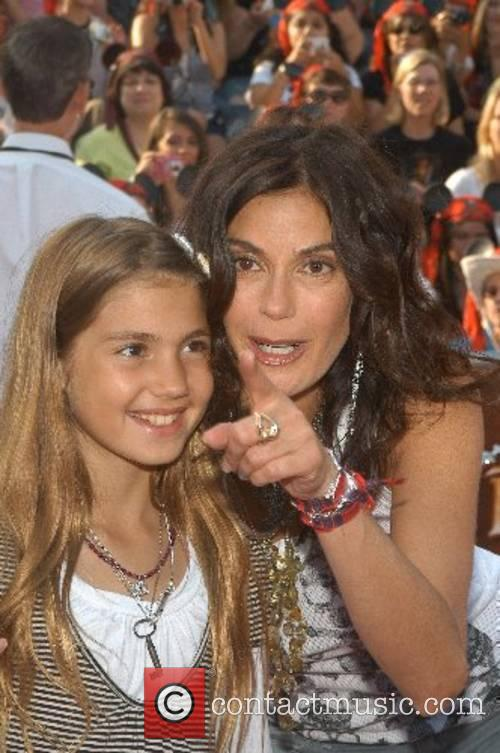 Teri Hatcher and Emerson Rose World Premiere of...