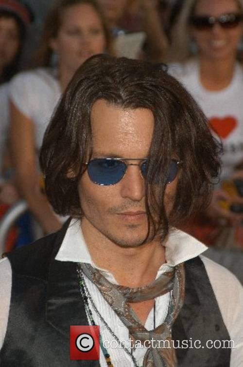 Johnny Depp, Disneyland