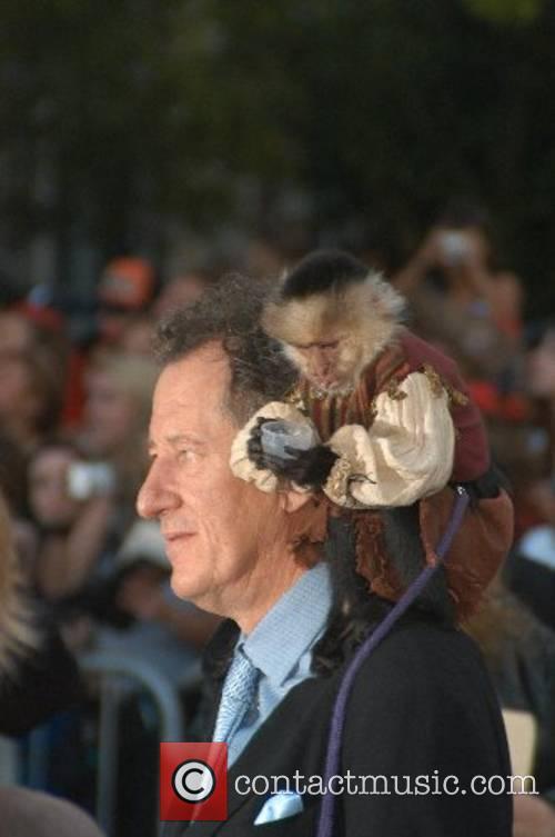 Geoffrey Rush World Premiere of Walt Disney Pictures...