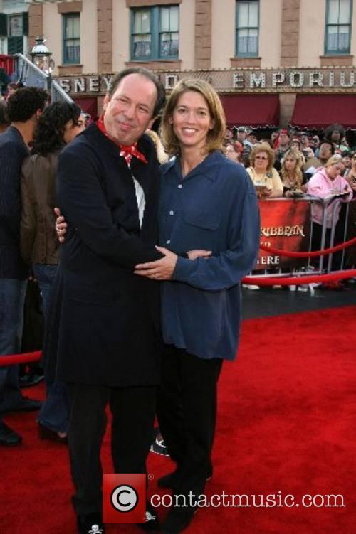 Hans Zimmer and his wife World Premiere of...