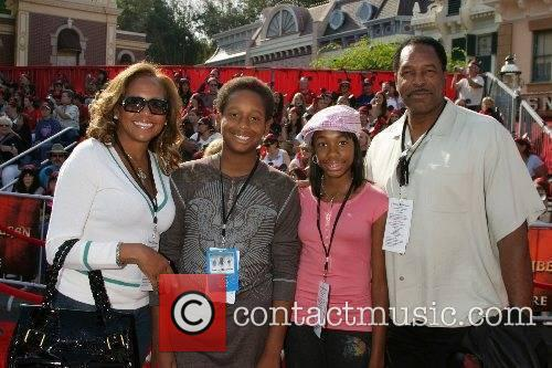 Dave Winfield and his family World Premiere of...