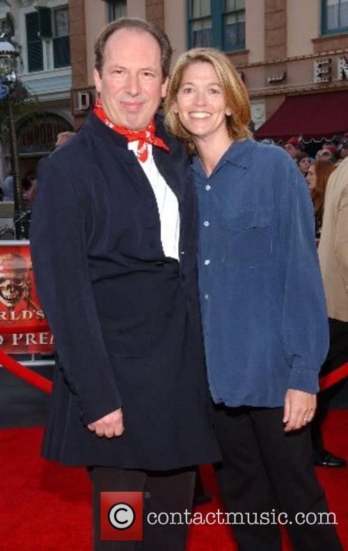 Hans Zimmer and wife Suzanne Zimmer World Premiere...