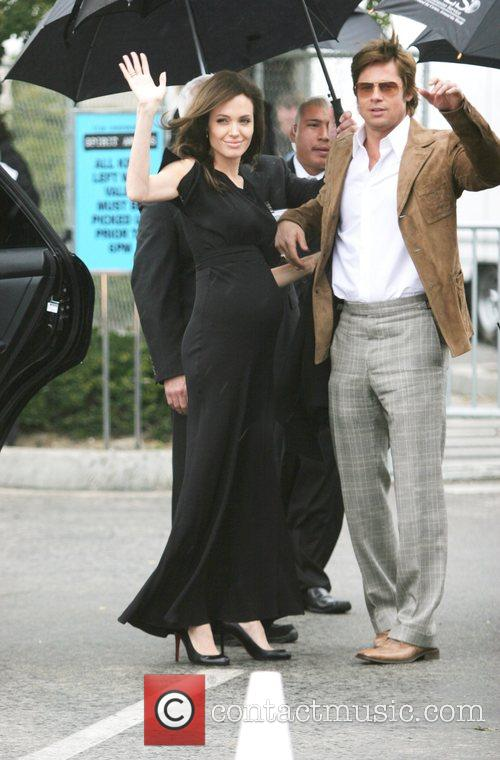 Angelina Jolie and Brad Pitt 7