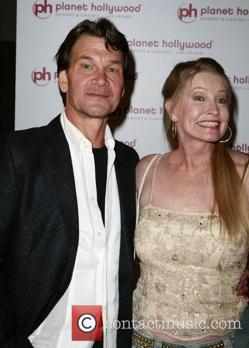 Patrick Swayze and Lisa Niemi 1