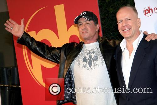 Sylvester Stallone and Bruce Willis 5