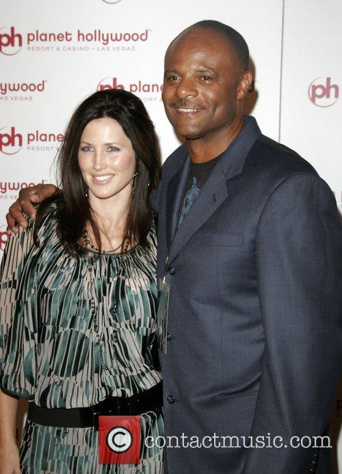 Warren Moon and Mandy Ritter