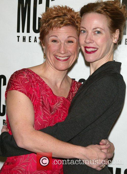 Lisa Kron and Veanne Cox  Opening night...