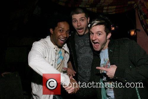 Brandon Rogers, Chris Richarson and Blake Lewis Playboy...