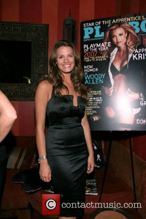 Heidi Androl Playboy Magazine June issue release party...