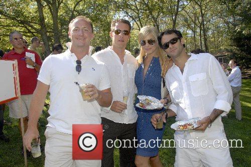 Christopher Braun, Justin Braun,Whitney Casey and Shad Azimi...
