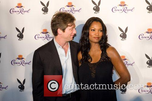 Mike Nilon, Garcelle Beauvais-Nilon Crown Royal Playboy Lounge...