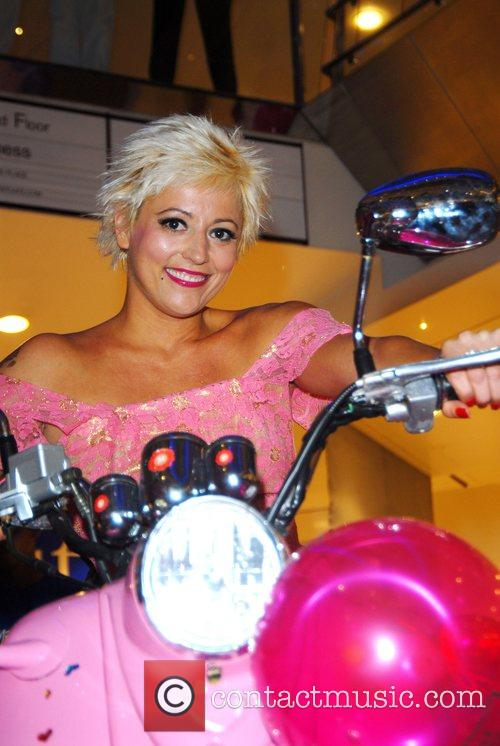 Caroline Monk 'They Pink it's all over' held...