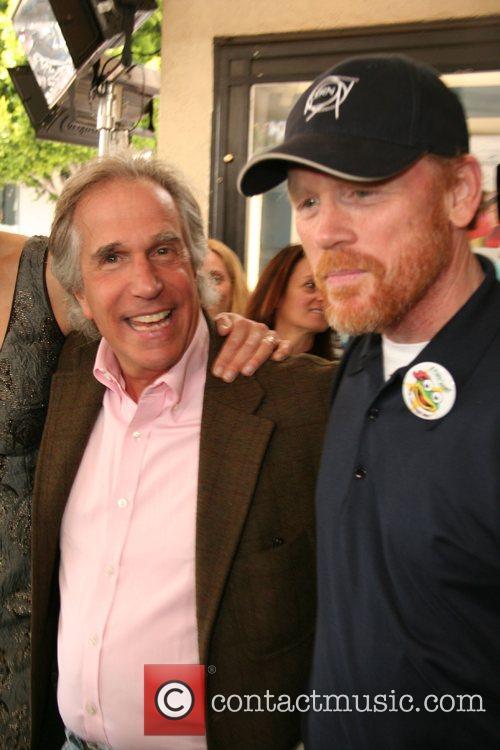 Henry Winkler & Ron Howard,  Premiere of...