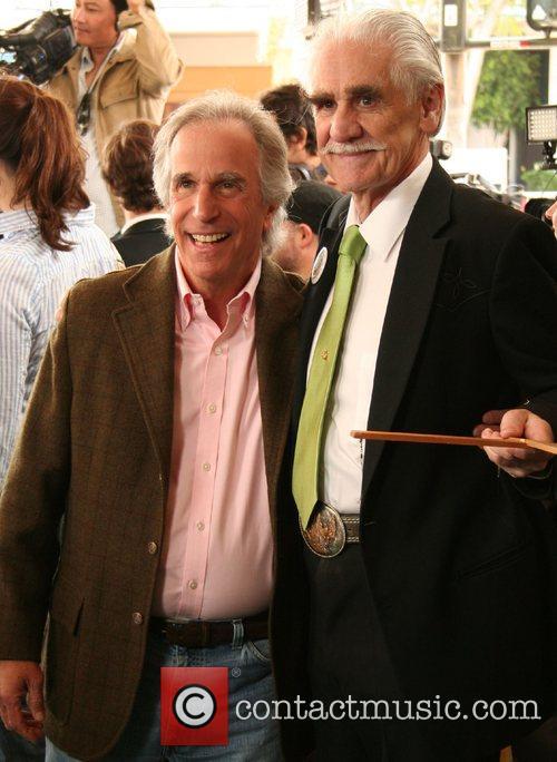Henry Winkler & Happy McAllister,  Premiere of...