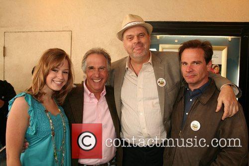 Morgan Flynn, Henry Winkler, Rick Overton, & Peter...