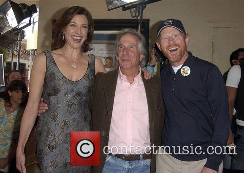 Brenda Strong, Henry Winkler and Ron Howard Premiere...
