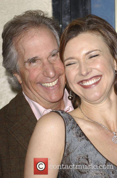 Henry Winkler and Brenda Strong Premiere of 'A...