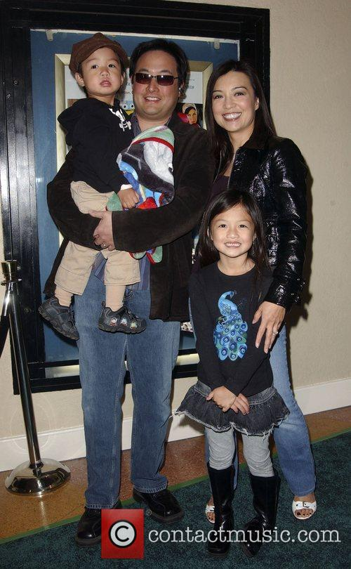 Ming Na and family Premiere of 'A Plumm...