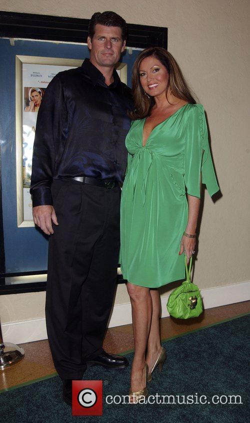Scott Erickson and Lisa Guerrero Premiere of 'A...