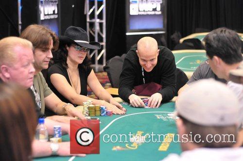 Jennifer Tilly 6th Annual World Poker Tour Celebrity...