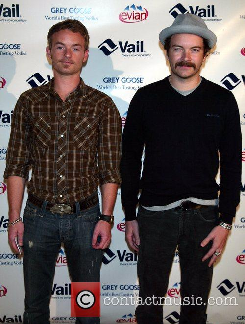 Chris Masterson and his brother Danny Masterson attending...