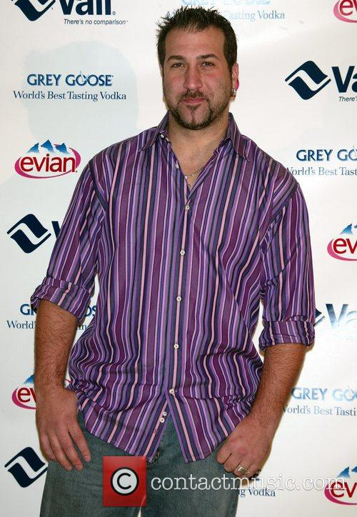 Joey Fatone attending the Vail Resorts Hold'Em Poker...