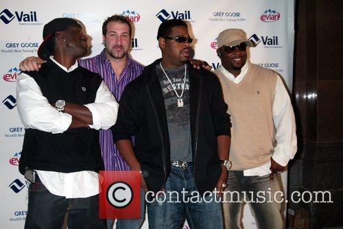 Boyz II Men and Joey Fatone attending the...