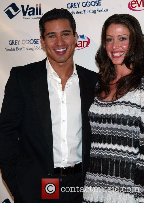 Mario Lopez and Shannon Elizabeth attending the Vail...