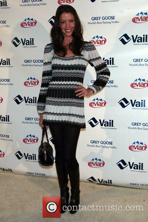 Shannon Elizabeth attending the Vail Resorts Hold'Em Poker...