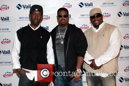 Boyz II Men attending the Vail Resorts Hold'Em...