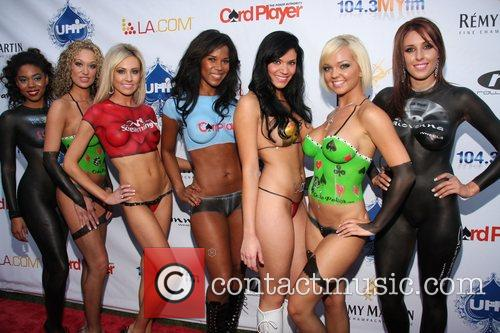 Nude models with body paint 3rd Annual Celebrity...