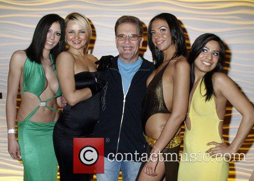 Ronnie The Limo Driver with female entertainers...