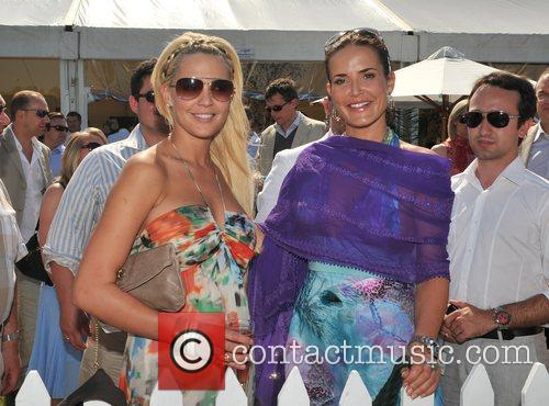 Danielle Lloyd and Sophie Anderton Hurtwood Park Polo...