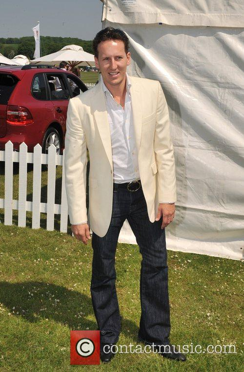 Brendan Cole  Hurtwood Park Polo Masters Tournament...
