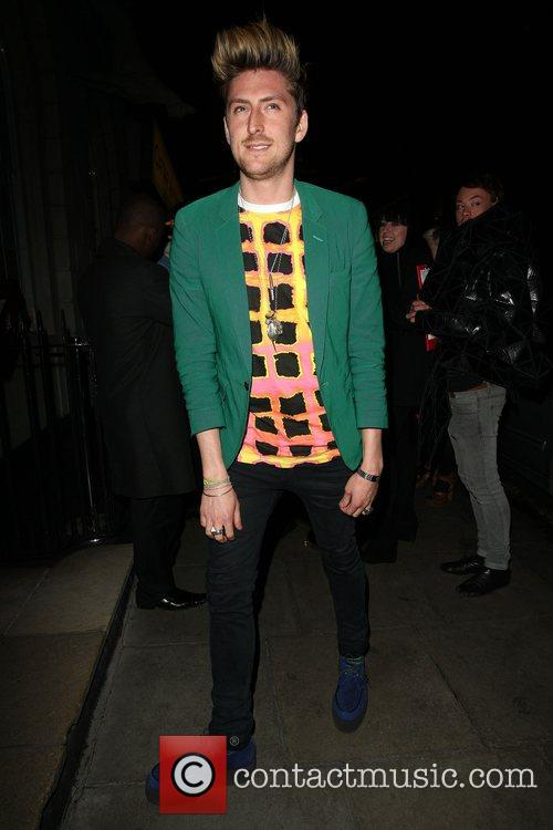 Www.ponystep.com launch party. Richard Mortimer, founder of club...