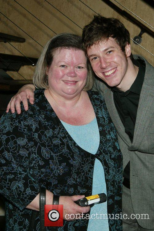 John Gallagher, Jr. and His Mom Judy 4