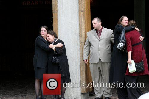 Funeral of country music legend Porter Wagoner at...
