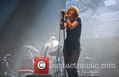Beth Orton of Portishead performing at the Hammersmith...