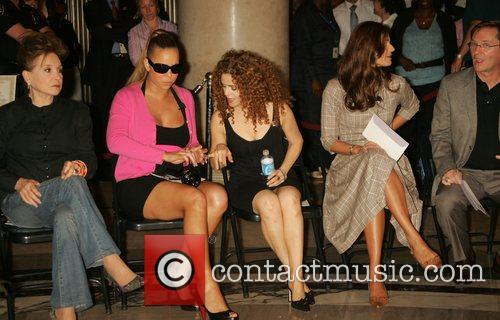 Bernadette Peters and Mariah Carey 2