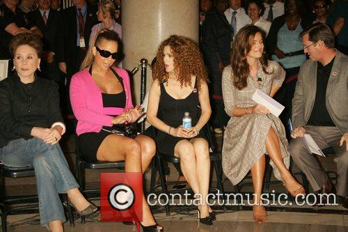 Cindy Adams, Mariah Carey, Bernadette Peters and Paulina...