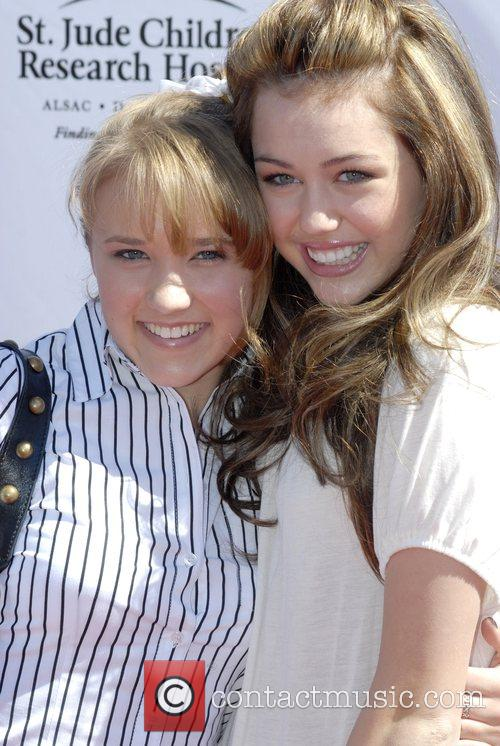 Miley Cyrus and Emily Osment 2