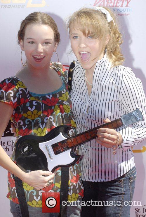 Amber Kay and Emily Osment  Power of...