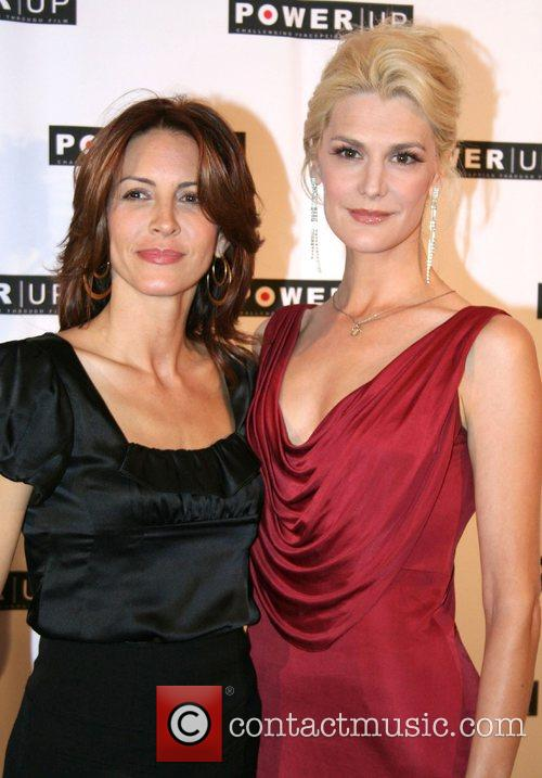 Michelle Clunie and Thea Gill,  Power Premiere...