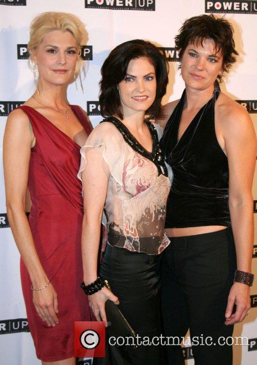 Thea Gill, Jill Bennett, and Michelle Wolff,...